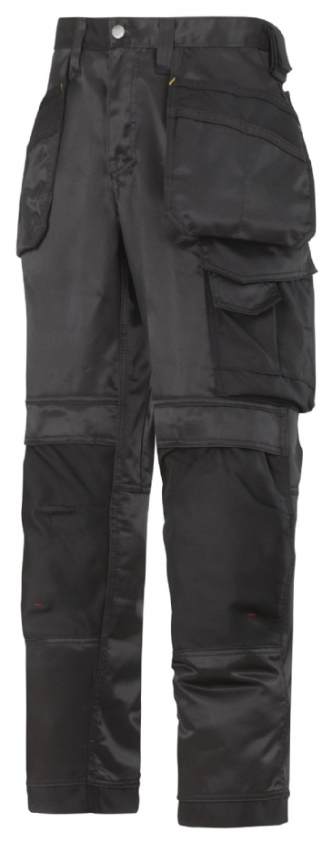 Snickers 3212 DuraTwill Craftsmen Holster Pocket Trousers (Black)